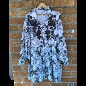 By antropologie dress size 22 w